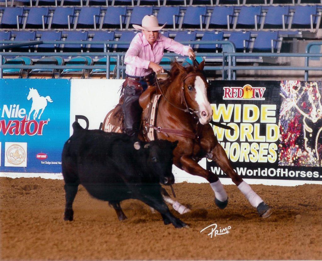 Jill Cook Circling and Colorado cowhorse training