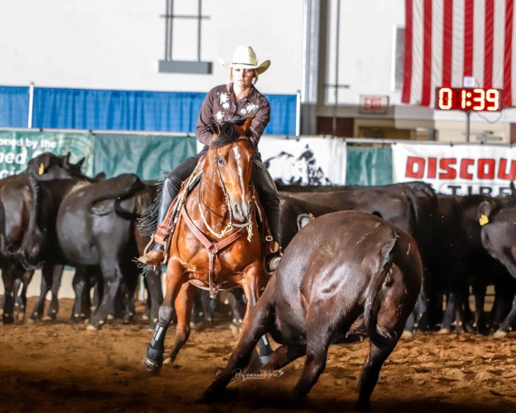 "Kelli Buckley & One Time Safari ""Roy"" Photo Credit: Performance Horse Photography"