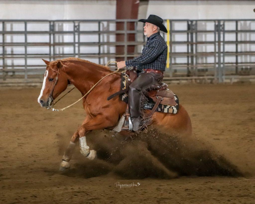 "Mike Tracy & One Smokin Taz ""Rango"" Photo Credit: Performance Horse Photography"