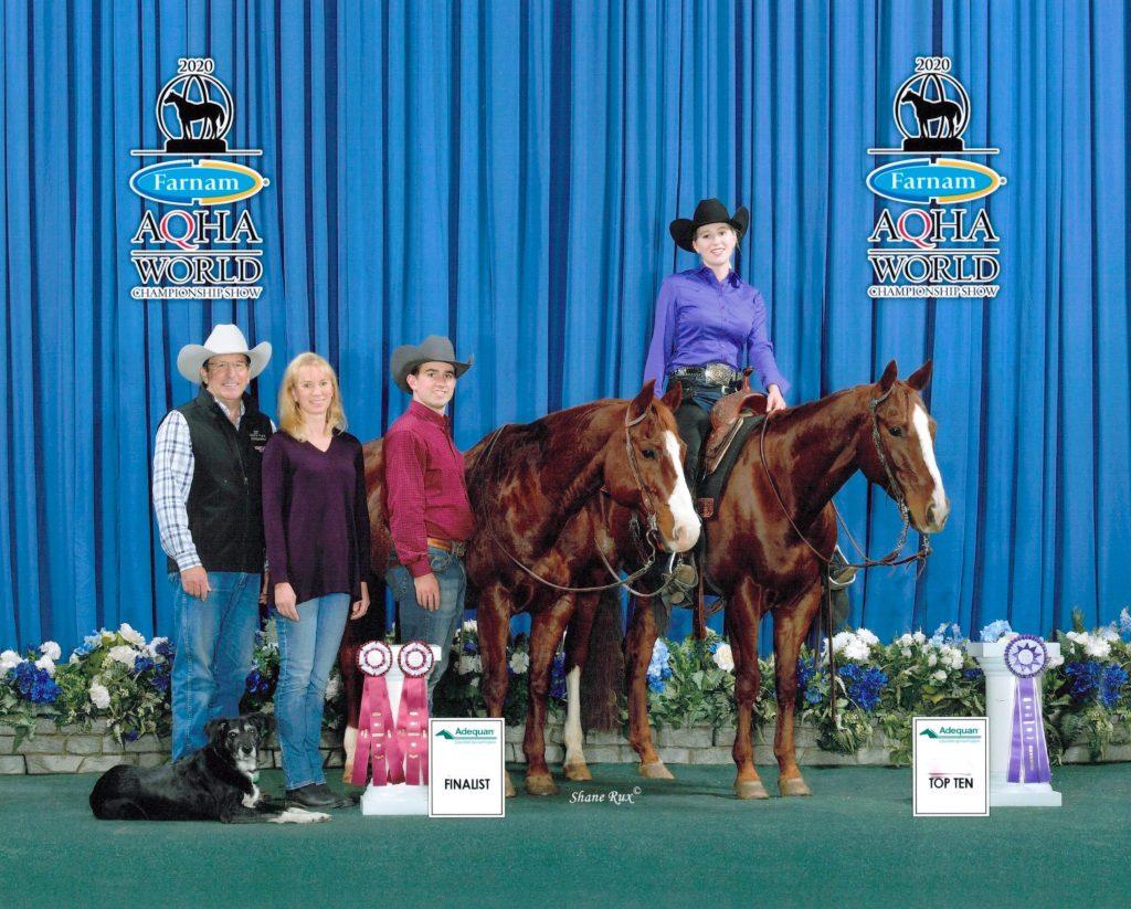 Kelsey Dawson & SCR Dualinon Tuesday - Top 10, Level 2 Junior Reining